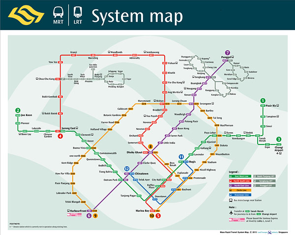 MRT-System-Map