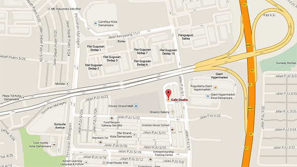 peta-cafe-studio-the-strand-kota-damansara-segmen-jom-ngopi-eshamzhalim-travelblog