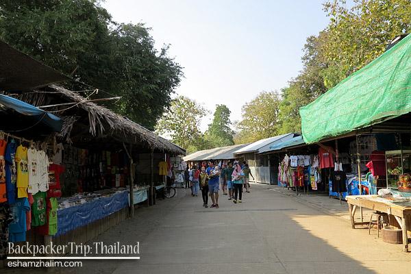 backpacker-trip-thailand-erawan-national-park-kanchanaburi-bangkok-lopburi-hatyai-kachanaburi-sunflower-farm-bunga-matahari-death-railway-visit-thailand-eshamzhalim