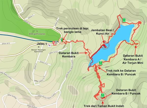 peta-lengkap-trek-bukit-kembara-ampang-trek-taman-tar-eshamzhalim