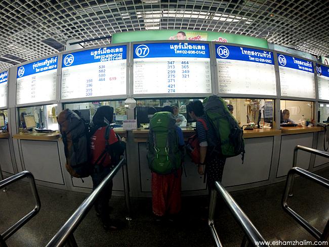 Morchit Bus Terminal Bangkok